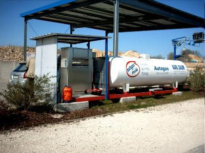 LPG Raps Biodiesel Diesel tanken in Eichstätt